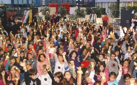 Children at Safe Kids Fair 2009